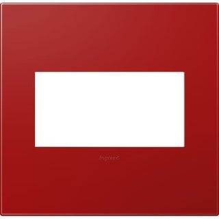 Legrand AWP2GCH4 adorne 2 Gang Plastic Wall Plate - 6.56 Inches Wide