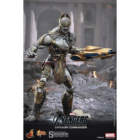 Hot Toys Marvel's Avengers Chitauri Commander 1:6 Collectible Figure - Multi