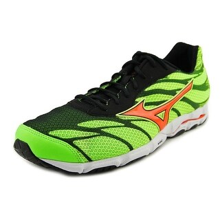 Mizuno Wave Hitogami 3 Men  Round Toe Synthetic Green Running Shoe