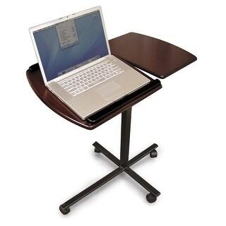 Handstands Windsor Cherry Split-top Rolling Laptop Desk