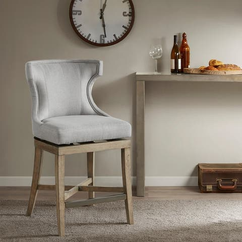 Madison Park Fillmore Counter Stool With Swivel Seat