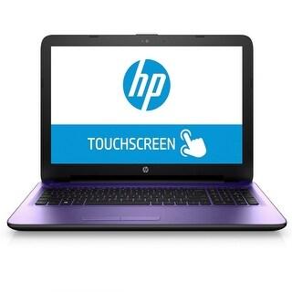 """HP 15-AY019CY 15.6"""" Touch Laptop Intel Pentium N3710 1.6GHz 4GB 500GB W10"""