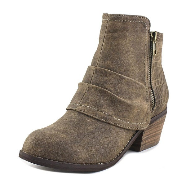 Not Rated Alda Women Round Toe Synthetic Bootie