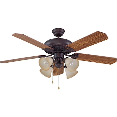 "Craftmade Manor-L Manor 52"" 5 Blade Indoor Ceiling Fan - Blades and"