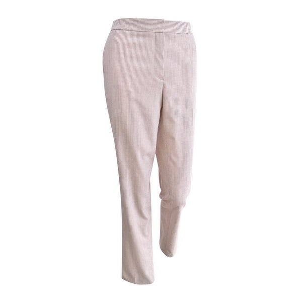 outlet store c81b3 6bfe9 Tommy Hilfiger Women's Striped Slim-Fit Pants - Ballerina Combo