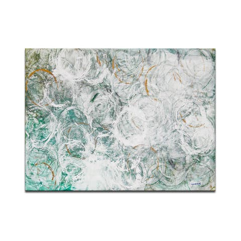 'Ocean Current' Wrapped Canvas Wall Art by Norman Wyatt Jr.