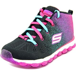 Skechers Glitterama Round Toe Canvas Sneakers