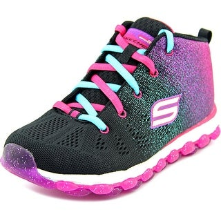 Skechers Glitterama Round Toe Canvas Sneakers