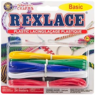 Rexlace Plastic Lacing 27yd-Basic