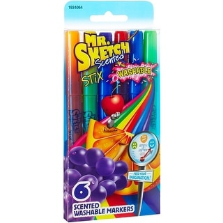 Mr. Sketch 1924064 Stix Scented Washable Markers