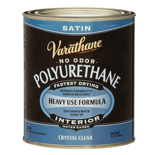 Shop Varathane A200241 Crystal Clear Satin Water Based