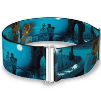 Cinderella Ball Night Scenes Cinch Waist Belt   ONE SIZE