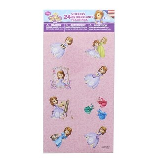 Disney Sofia The First Stickers, Pack of 24 - multi