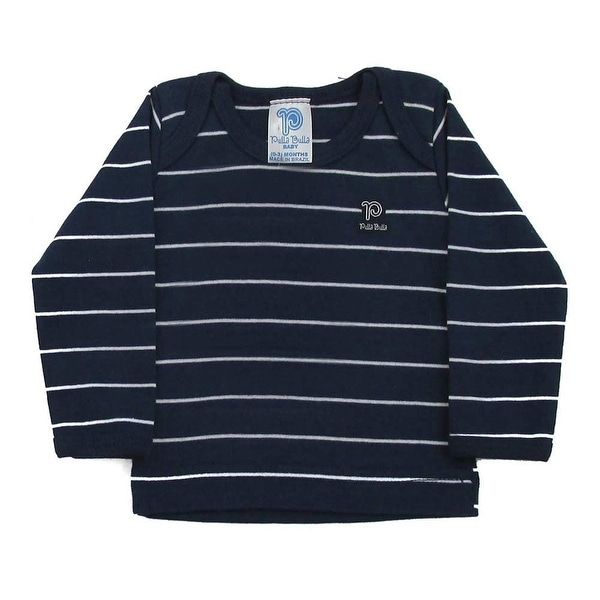 Baby Shirt Unisex Infants Long Sleeve Striped Tee Pulla Bulla Sizes 0-18 Months