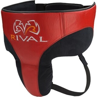 Rival Boxing 360 Pro No Foul Protector - Black/Red