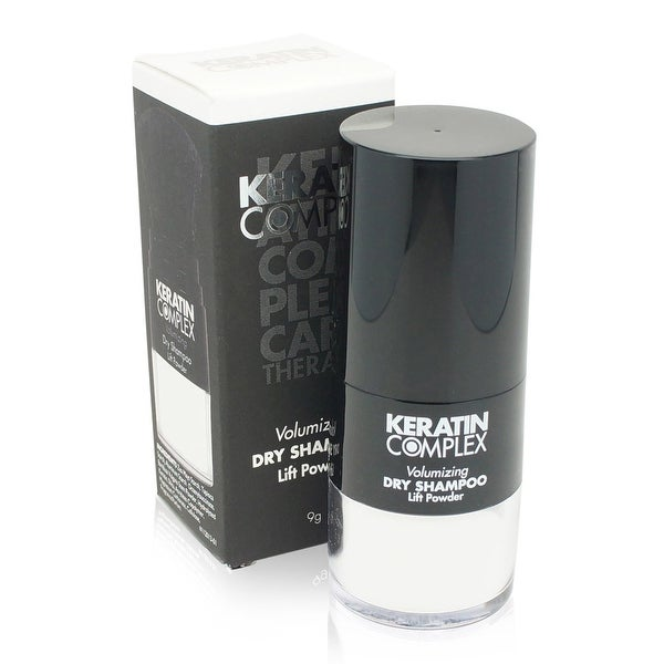 Keratin Complex - Volumizing Dry Shampoo Lift Powder for Unisex White 0.31 Oz