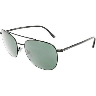 Giorgio Armani Men's AR6042-300171-54 Black Square Sunglasses