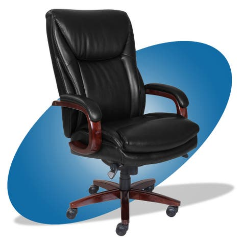 La-Z-Boy Big and Tall Edmonton Executive Office Chair with ComfortCore