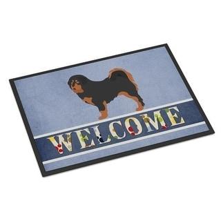 Carolines Treasures BB8326JMAT Tibetan Mastiff Welcome Indoor or Outdoor Mat - 24 x 36 in.