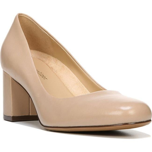 Whitney Pump Taupe Leather