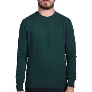 Valentino Men's Crew Neck Sweater Green