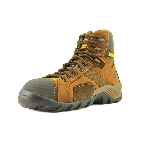 Caterpillar Argon Hi   Round Toe Leather  Work Boot