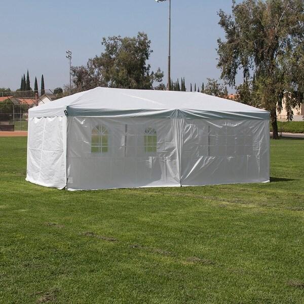 Shop Belleze 10 X20 Pop Up Wedding Party Tent Folding