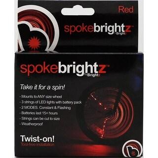 Spoke Brightz LED Bicycle Spoke Accessory, Red - multi