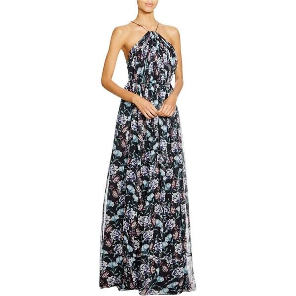 391bfa350b850 Shop Jill Stuart Womens Maxi Dress Silk Chiffon Floral Print - Free ...