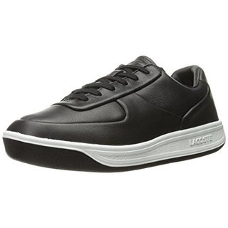 Lacoste Mens Leather Low Top Fashion Sneakers - 13 medium (d)