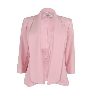 Kasper Women Open-Front Jacket|https://ak1.ostkcdn.com/images/products/is/images/direct/686364451ff636acfe98df160aaf63c829f7dbcc/Kasper-Women-Open-Front-Jacket.jpg?impolicy=medium