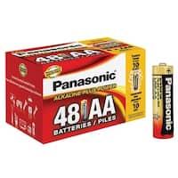 "Panasonic Alkaline Size ""Aa"" Plus Power 1 Box = 48 Batteries Blister Box"