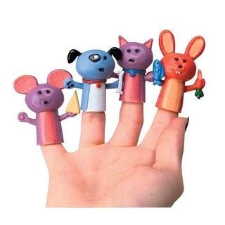 12  Animal Finger Puppets  2 Inch Vinyl  New