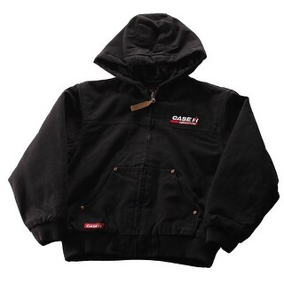 Case IH Big Boy's Hooded Winter Jacket