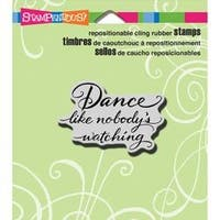 """Dance Like - Stampendous Cling Stamp 3.5""""X4"""""""