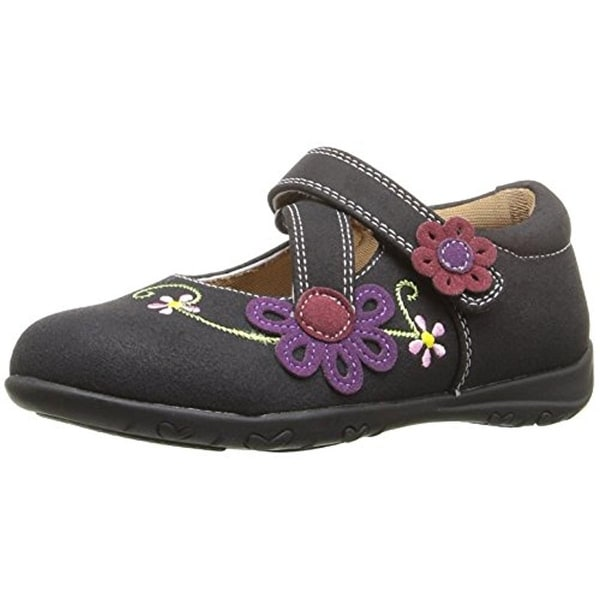 Rachel Shoes Girls Susie Mary Janes Embroidered