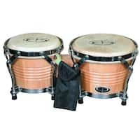 GP Percussion ?_oPro Series?__ Tunable Birch Bongos