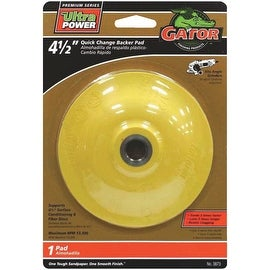 "Gator 4-1/2"" Qc Backer Pad"