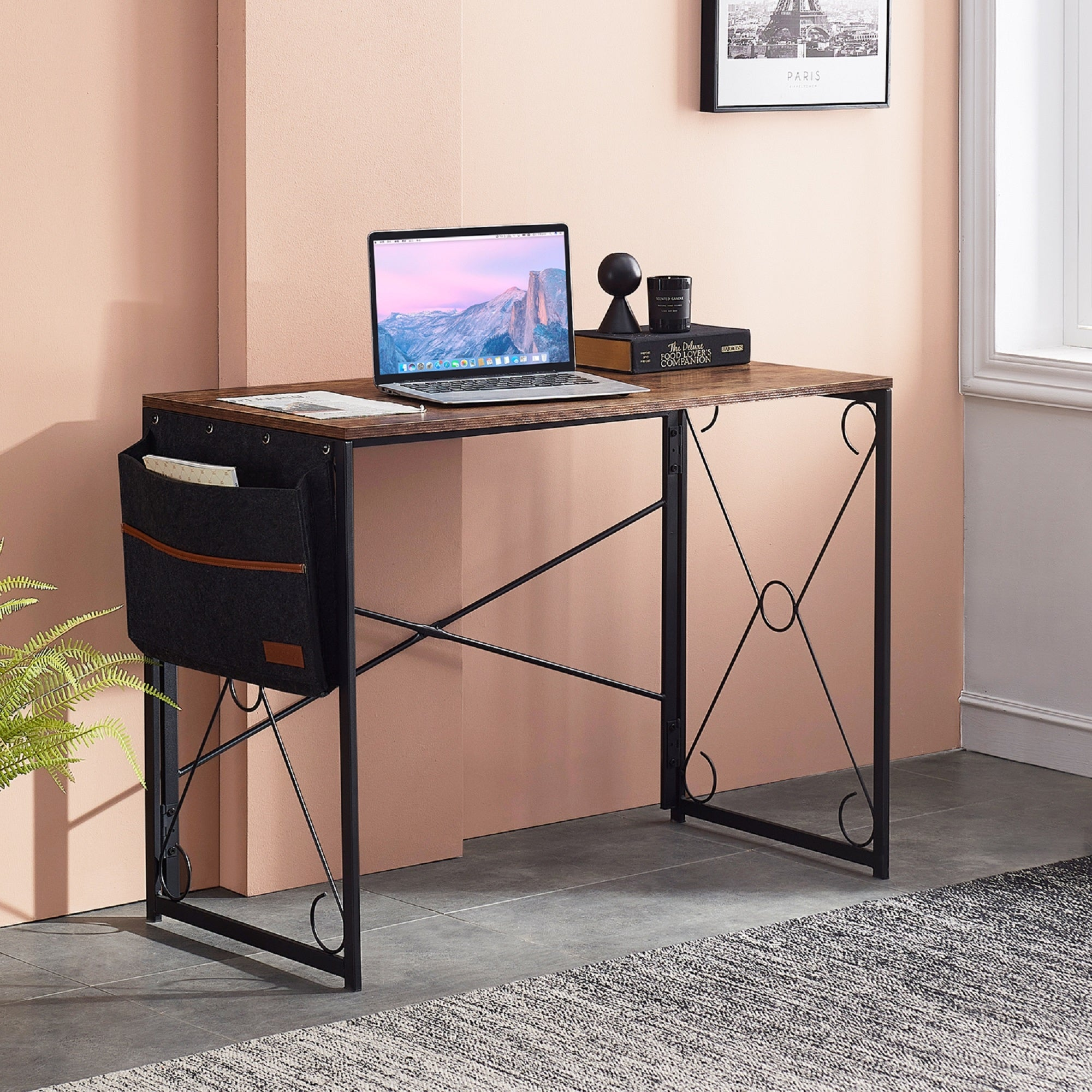 28.6X34.6X25.3CM File Cabinets Desk Storage Unit Organizer Strong Collision Resistance Organizational Needs Confidential Standard Desks Aluminum Alloy,MDF Home Office Furniture