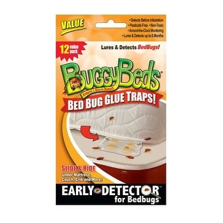 BuggyBeds 70790 Value Bed Bug Glue Traps