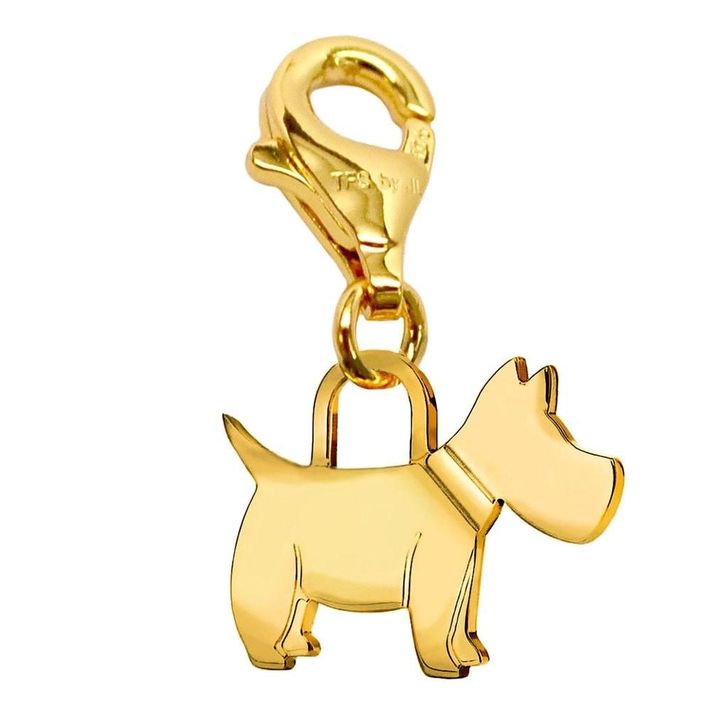Julieta Jewelry Scottie Dog Clip-On Charm - Thumbnail 0