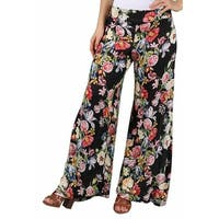 Love Change Junior Floral Print Palazzo Pant
