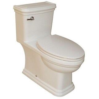Rohl FE2356 1.28 GPF One-Piece Elongated Toilet with ADA Compliance