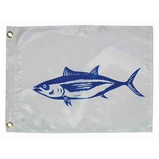 "Taylor Made 12"" x 18"" Tuna Flag