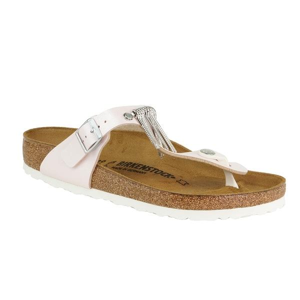 f944337e9039 Shop Birkenstock Women s Gizeh Birko-Flor Fringe Sandals - On Sale ...