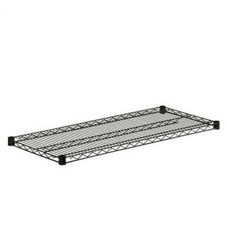 Honey-Can-Do SHF800B1636 Steel Shelf 800lb black 16x36, black