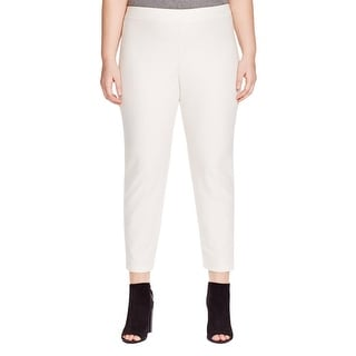 Eileen Fisher Womens Plus Dress Pants Textured Stretch