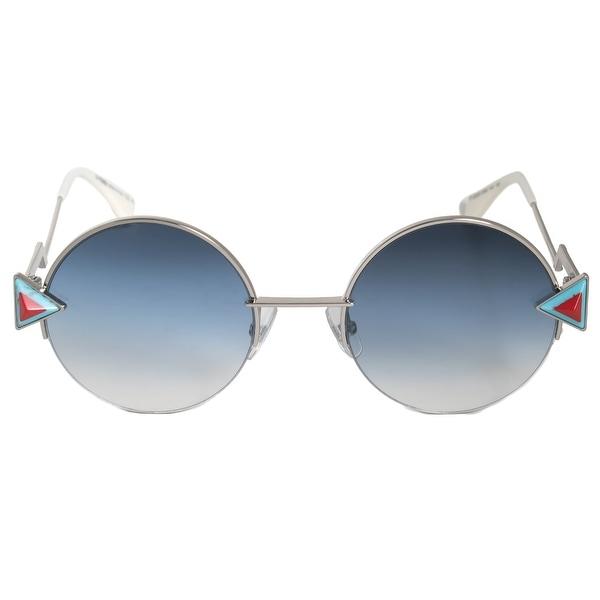 a57379f825 Shop Fendi Rainbow Round Sunglasses FF0243S SCB NE 51 - On Sale ...