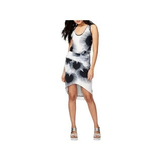 Rachel Rachel Roy Womens Michele Cocktail Dress Sleeveless Printed