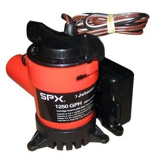 "Johnson Pump 1250 GPH Ultima Combo Pump 1-1/8"" Hose 12V"